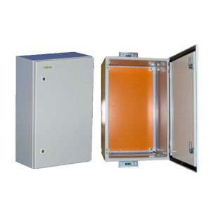 Tycon Systems ENC-ST-23x14x12 Steel Outdoor Enclosure With Tamper Proof Locking Door - 23 x 14 x 12 in. Inside