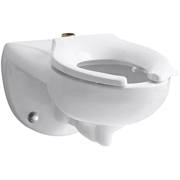 Kohler K 4325 L 0 Kingston Tm Wall Mounted 1 6 Or 1 28