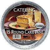 Handi Foil Round Cake Pan, 15 inch -- 12 per case.