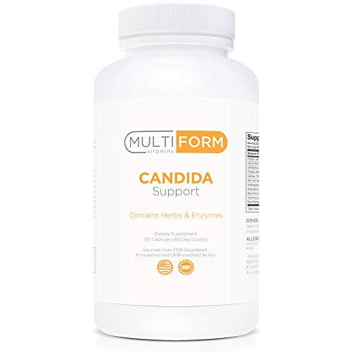 Multiform Vitamins Candida Support – Candida Cleanse 120 Capsules