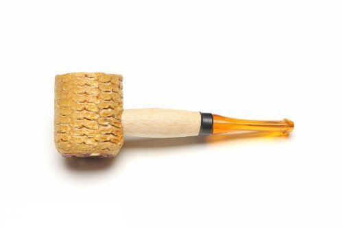 - Missouri Meerschaum Mini Varnished Gold Stem Corncob Tobacco Pipe