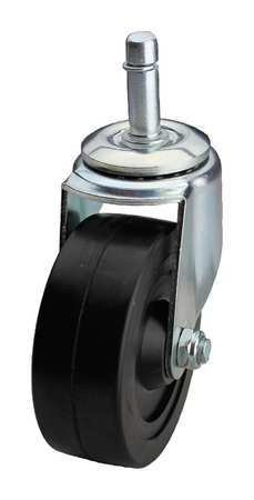 OKSLO 02rr04052s-s20gn swivel stem caster, 4 in, 150 lb, rubber
