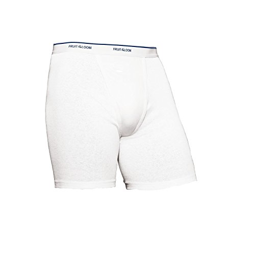 Fruit of the Loom Men'sNo Ride up Boxer Brief M (Pack of 5)