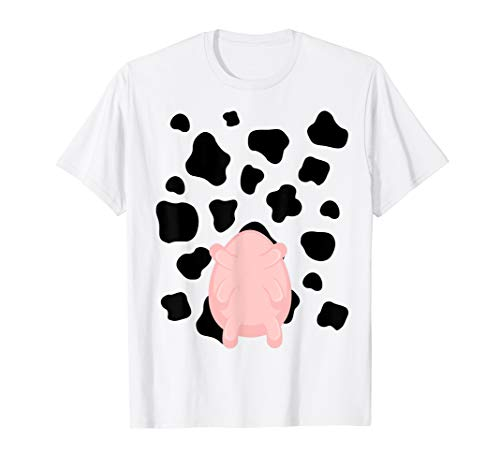 Cow Utter Funny Last Minute Halloween Costume Idea Shirt