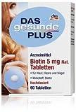 Biotin 5 mg N by Das gesunde Plus Review