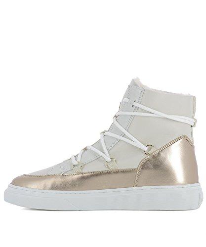 Donna Top Hxw3420z960hq80l8v Sneakers Hi Beige Pelle Hogan ntwpHIqp