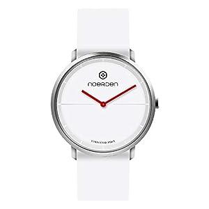 NOERDEN LIFE2 – Blanco – Silicona – Reloj híbrido Inteligente – 38 mm