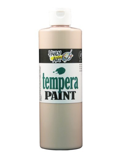 Handy Art by Rock Paint 201-000 Tempera Paint 1, Peach, 16-Ounce by Handy Art by Rock Paint