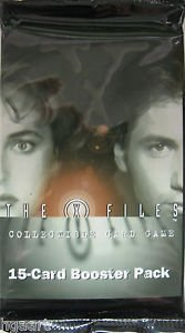 x-files trading card game - 5