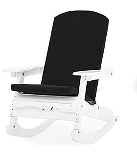Adirondack Chair High Back Cushion Rocho 5 Cm Thick Amazon Co Uk