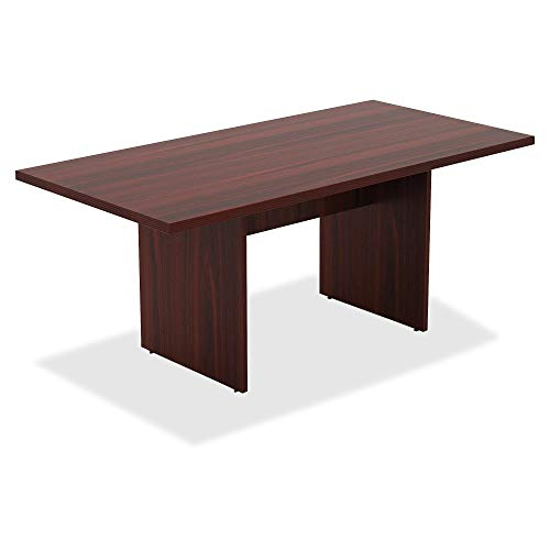 - Lorell Chateau Srs Mahogany 6' Rectangular Table (Renewed)