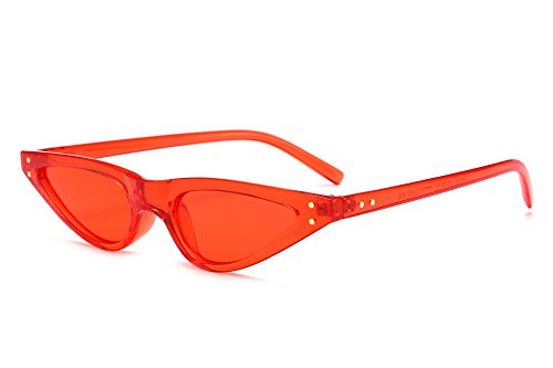 FEISEDY Retro Cat Eye Sunglasses Small Shade Women Eyewear ()