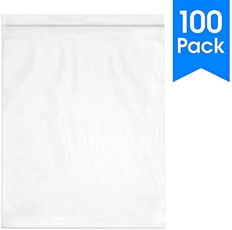 100 Count Reclosable Resealable Industrial product image