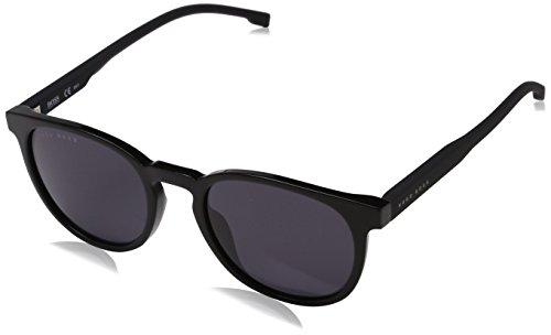 BOSS by Hugo Boss Men's Boss 0922/s Polarized Oval Sunglasses, BLACK, 51 ()