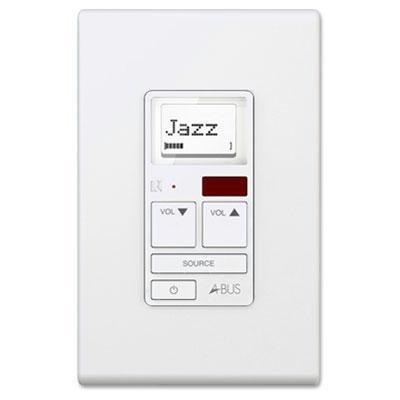Russound A-K6L Amplified Keypad White