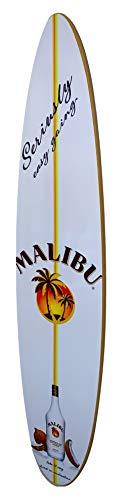 - Malibu Rum Surfboard Wall Decor - 48 inch Malibu Style Surfboard