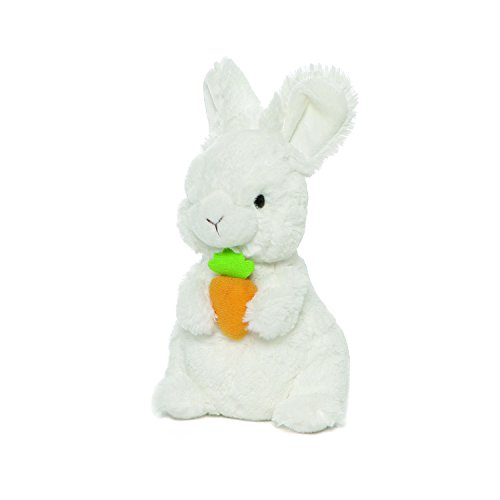 GUND Easter Lil' Whispers Standing Bunny Rabbit with Carrot Plush Stuffed Animal 7.5