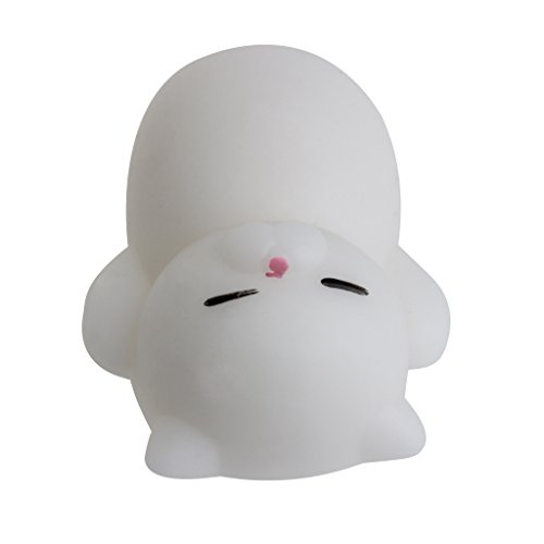 Cat Fangs (Fang sky Cat Animal Squeeze Healing Toy Kawaii Collection Stress Reliever Soft Silicone)