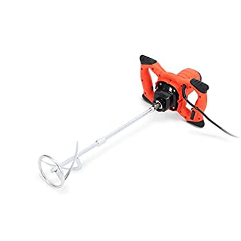 Image of Home Improvements 1800W Nordstrand PWTPM01 Pro Mixer Stirring Tool for Cement Plaster Grout Paint Thinset Mortar - 6 Speed - 120mm Mixing Paddle