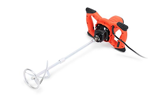 (1800W Nordstrand PWTPM01 Pro Mixer Stirring Tool for Cement Plaster Grout Paint Thinset Mortar - 6 Speed - 120mm Mixing Paddle)