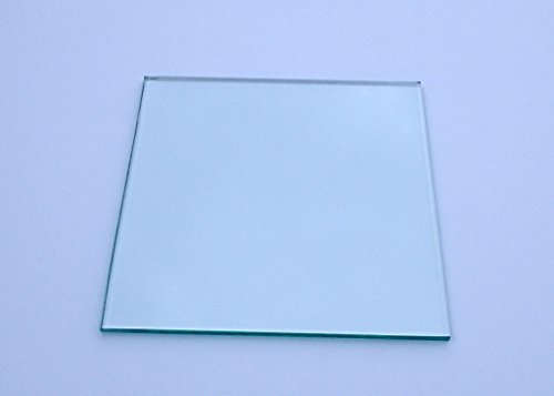 "8.6""x8.6""x0.22"" (220mm X 220mm X 6mm) Borosilicate Heated Bed Glass Plate Works W/ i3, MK2, MK3 3D Printer"