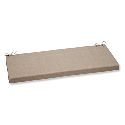 Pillow Perfect Monti Bench Cushion, Taupe (Cushion 45 X Bench 16 Outdoor)