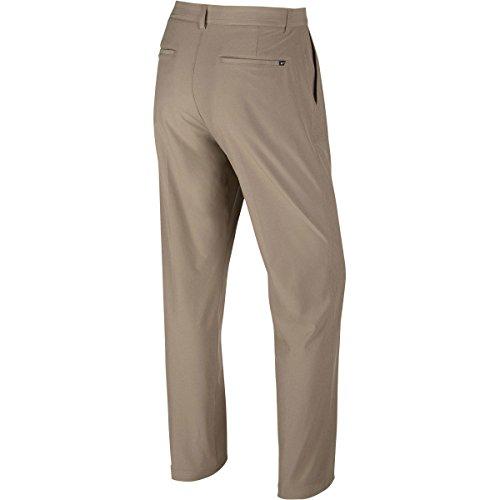 Nike Flat Front Stretch Wvn - Pantalón para hombre Khaki / Gris Oscuro / Gris