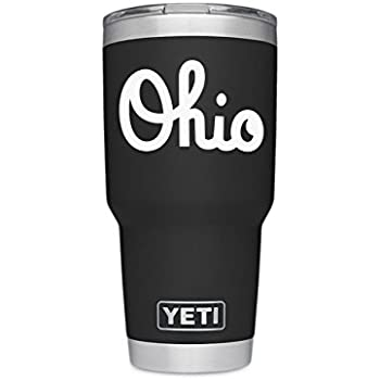d107ba53408 ViaVinyl Ohio State OSU Marching Band Script Ohio Decal for Automobile  Windows, yeti Coolers and