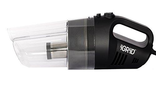 IGRID Car Vacuum, Car Vacuum Cleaner with DC12V, 4000pa Handheld Auto Vacuum Cleaner, lightweight...