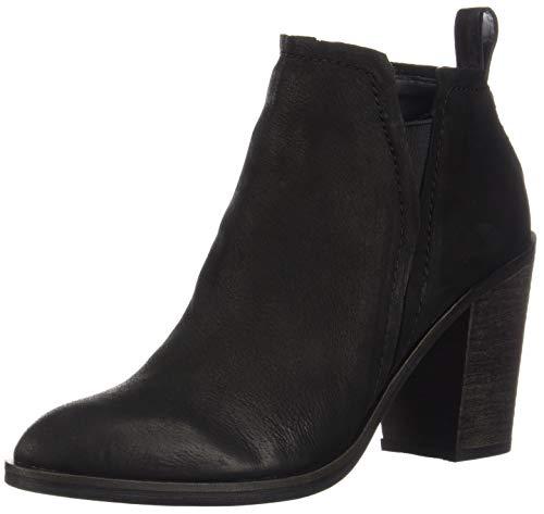 Dolce Vita Women's Simone Ankle Boot, Black Nubuck, 7 M US