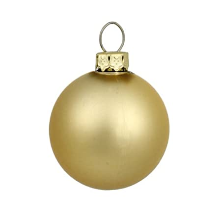matte gold glamour commercial shatterproof christmas ball ornament 1575