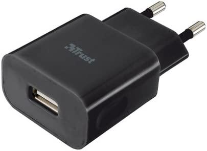 Trust Universal - Cargador de móvil de red (USB, 5 W), negro