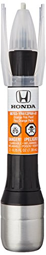 Genuine Honda (08703-YR612PAH-PN) Touch-Up Paint, ORANGE FIRE PEARL, Color Code: YR612P