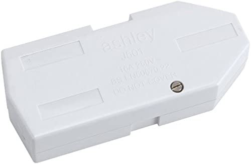 Ashley J501 Low Profile Torpedo Shaped Downlighter Junction Box 16A by Hager Ashley//Klik