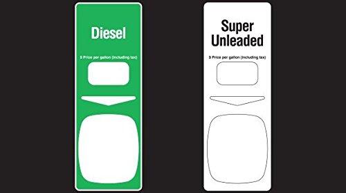 888459-002-0G3 - Diesel / Super Unleaded PTS Panel Overlay