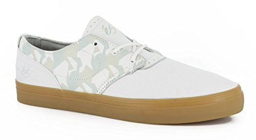 eS Skateboard Shoes ACCENT WHITE/GUM Size 12