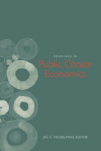 Readings in Public Choice Economics