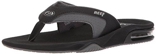 Black Men's Stealth Sandal Reef Grey II wSqInF