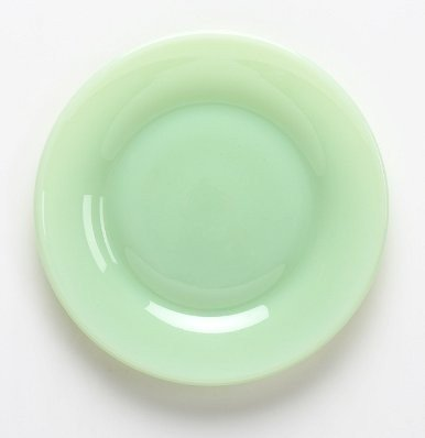 Mosser Glass 10u0026quot; Jade Dinner Plate & Mosser Glass 10