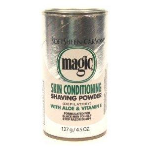- Magic Platinum Shaving Powder 4.5 oz. Skin Conditioning - 6 Pack