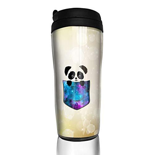 Arsmt Pocket Panda 11.8oz Coffee Mug Insulated Leakproof Tea Cup Birthday Gift