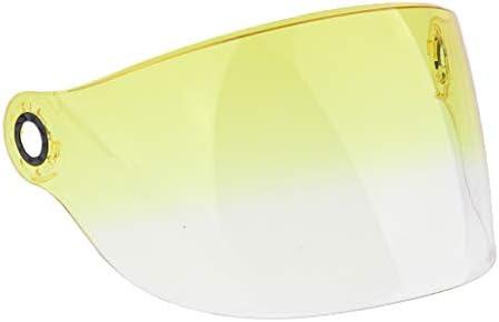 バイザー ヘルメット 交換部品 YOHE 357 358 350A 339 LINS対応 紫外線防止 取り外し可能 洗える頬 - 4