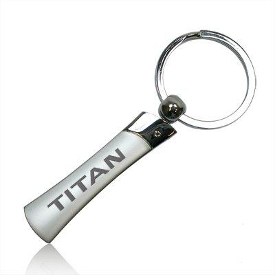 Nissan Titan Blade Style Metal Key Chain Nissan Titan Keychain