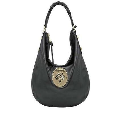 3342ca73363d Mulberry Bag Daria Medium Hobo Handbag Black Soft Spongy  Amazon.co.uk   Kitchen   Home