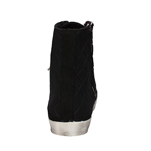 Tessuto Donna Camoscio Star Sneakers Ad452 Nero 2 g4wF6nqPn