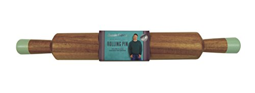Jamie Oliver Classic Wood Rolling Pin for Baking - Large 18.5 Inch by Jamie Oliver