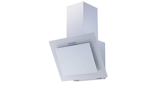 respekta CH21060WB - Campana (60 cm, cristal), color blanco: Amazon.es: Grandes electrodomésticos