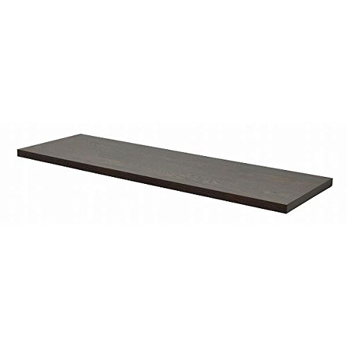 テーブルキッツ 奥行45タイプ 天板L (W1400×D450×H35mm) ダークブラウン B0784FP745
