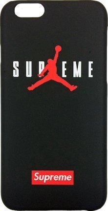 finest selection bddf4 2847e Supreme x Jordan Black