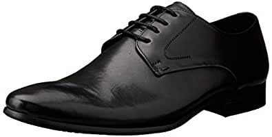 Windsor Smith Men's Bently Dress Shoe, Black, 9.5 AU